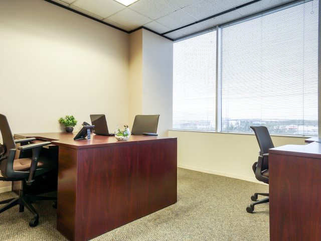North Houston Executive Suites Co Working Office with Window
