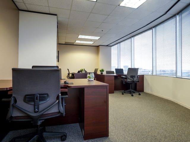 North Houston Executive Suites Co-Working Packages with Window